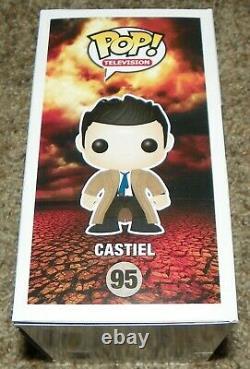 Misha Collins Castiel Supernatural Signed Funko Pop Figure Auto JSA Hot Topic