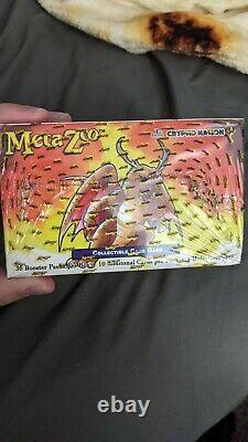 NEW Metazoo Cryptid Nation 1st First Edition 36 Pack Booster Box Factory Sealed