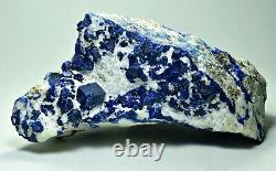 Natural Super Quality Sharp Terminated Sodalite Crystals On Matrix 1111 gram