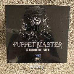 PUPPET MASTER 12 BLU-RAY COLLECTION (Digitally Restored Boxset) NEW