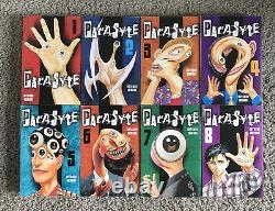 Parasyte English Manga Omnibus Volume 1-8 Complete + Neoparasyte Epilogues M&F