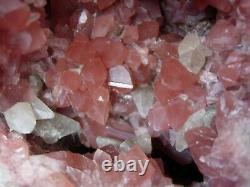 Pink amethyst geode specimen super rare U. K. Seller since 2003