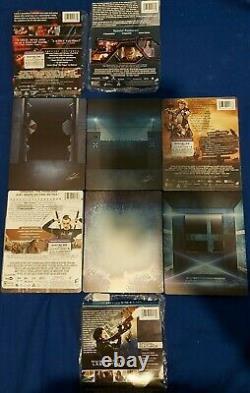 Resident Evil Steelbook Collection (Blu Ray/DVD) NO DIGITAL
