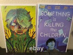 Something is Killing the Children 1-16 1st print 2 3 4 5-16 Raw Netflix