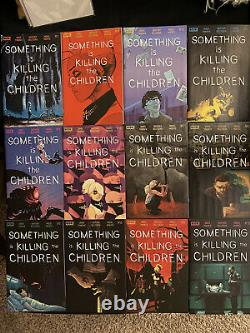 Something is Killing the Children 1-16 1st print cover a 2 3 4 5-16 Raw Netflix