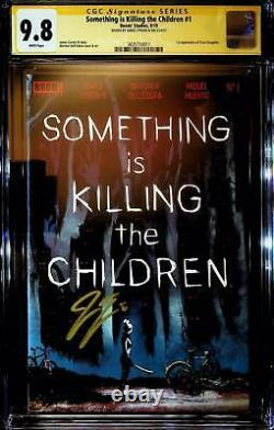 Something is Killing the Children #1 SS CGC 9.8 Signed James Tynion IV ALA VHTF