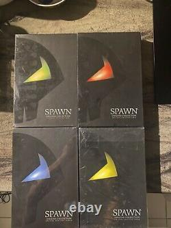Spawn Origins, Rare, Limited Signed Deluxe Edition Spawn#1-4