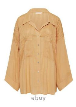 Spell & The Gypsy Sundown Collection Linda Blouse Clay NWT Size Large