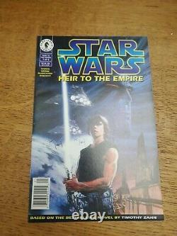 StarWars Heir to the Empire#1 Newsstand vf/nm 1st Admiral Thrawn Rumored Disney+