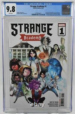 Strange Academy #1 2020 CGC 9.8 1st App. Emily Bright Marvel Comics
