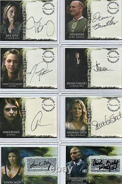 Supernatural Autograph, Wardrobe, Printing Plate & Costume Card Selection NM