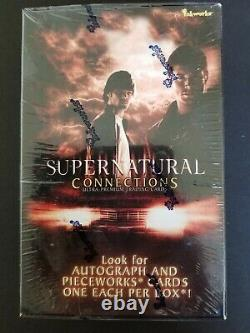 Supernatural Connections Factory Sealed Trading Card Box Inkworks