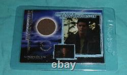 Supernatural Connections Piecework Card PW2 Jensen Ackles Rare