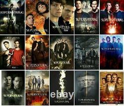 Supernatural Poster Collection Bundle (Set of 15) All 15 Seasons NEW USA