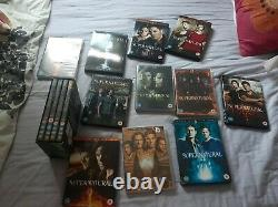 Supernatural Season 1-15 DVD Box Set Complete TV Series Collection 15 Single Set
