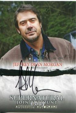 Supernatural Seasons 1-3 Autograph Card A02 Jeffrey Morgan as John Winchester