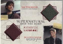 Supernatural Seasons 1-3 Dual Wardrobe Card DM01 Sam & Dean Winchester