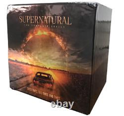 Supernatural The Complete Series Collection Season 1-15 DVD Box Set New Sealed