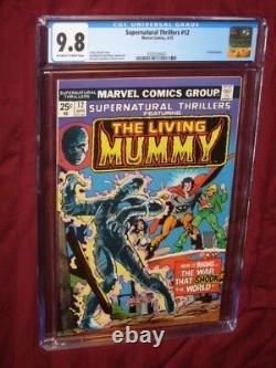 Supernatural Thrillers #12 CGC 9.8 Living Mummy