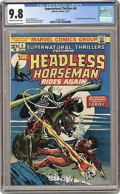 Supernatural Thrillers #6 CGC 9.8 1973 2093438017
