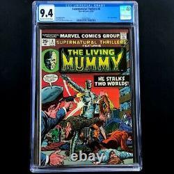 Supernatural Thrillers #8 (Marvel 1974) CGC 9.4 The Living Mummy Comic