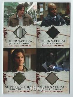 Supernatural seasons 1-3 wardrobe card insert set 20 cards M01 thru M20