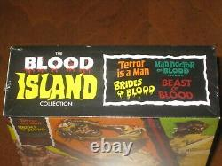 THE BLOOD ISLAND COLLECTION Limited Edition Blu-Ray Box Set SEVERIN FILMS NEW