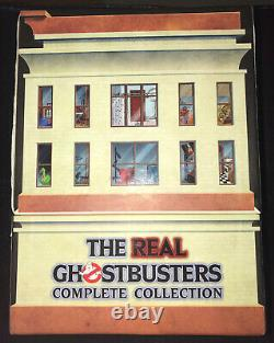 THE REAL GHOSTBUSTERS COMPLETE COLLECTION DVD BOX SET! Limited Time-Life Set