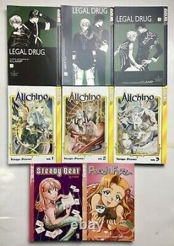 TOKYOPOP Manga Lot of 55 Vampire Game, The Tarot Cafe, Pet Shop of Horror, etc
