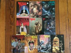 Taboo 1-9 RUN & Especial Bissette Moore Campbell Columbia Moebius Chester Brown