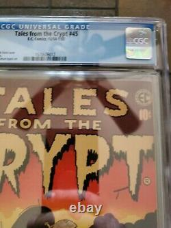 Tales from the crypt 45 CGC 5.5