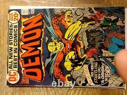 The Demon #1 Origin & 1st App. Etrigan & Randu DC Comics 1972 Jack Kirby