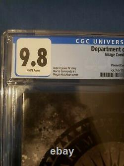 The Department of Truth #1 CGC 9.8 Megan Hutchison Variant Cover V 616 Image