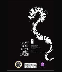 The Me You Love In The Dark #1 Javier Fernandez Virgin Ltd 100 Coa In Hand