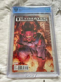 Ultimates #1 150 Adams Galactus variant CBCS 9.8 NM/MT Marvel Comics 2015