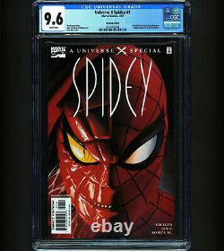 Universe X Spidey #1 CGC 9.6 RECALLED VARIANT Alex Ross 1st Apps Earth-TRN419