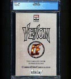 Venom #31 CGC 9.8 RARE Virgin Variant Venom Joins Symbiote Hive 1 Of Only 59