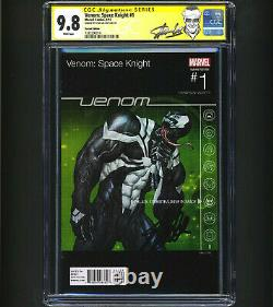Venom Space Knight #1 CGC 9.8 SS Lee Hip Hop Variant 1st Apps x10 1 OF 6 RARE