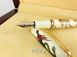 Visconti Supernatural Creatures LE Maki-e Matching # Set 4 Fountain Pens