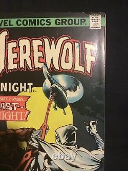 WEREWOLF BY NIGHT #33 (1975) 2nd app. Moon Knight Marvel KEY
